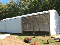 24' x 60' Freestanding Sliding Doors