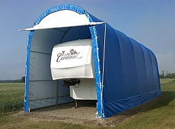 15' High Profile RV Shelter